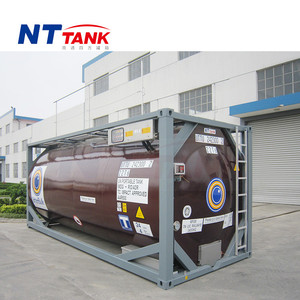 Electrical heated liquid transport 20 feet iso container dimensions