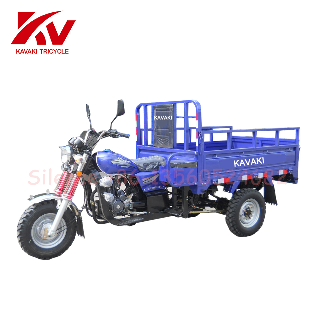 Heavy Loading Goods Transportation 3 Wheel Dumping Motor Bicycle Truck For Sale