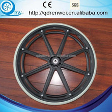 "26"" PU Wheel PU Wheelchair Push Wheel"