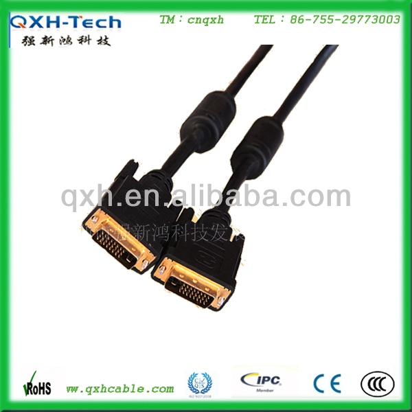 High definition 1080P 100 Foot 24 pin DVI CABLE