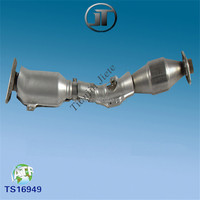 Car Exhaust Part Three Way Catalytic Converter for Tiida