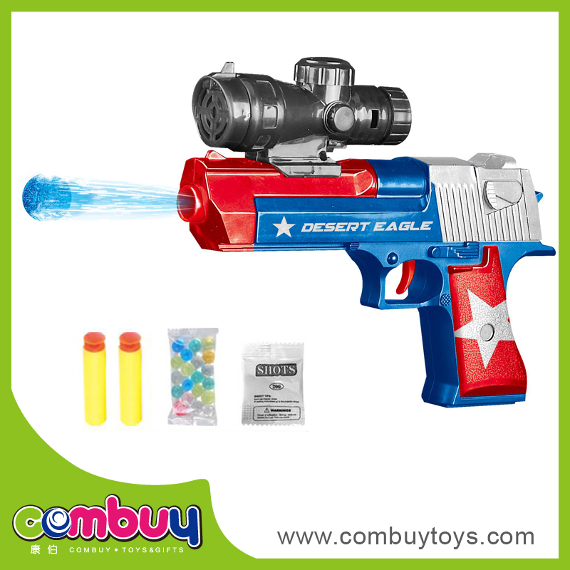 Wholesale plastic soft dual purpose bomb crystal water bullet gun toy