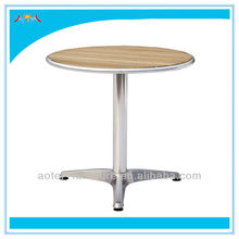 Modern style outdoor solid wood dinning table