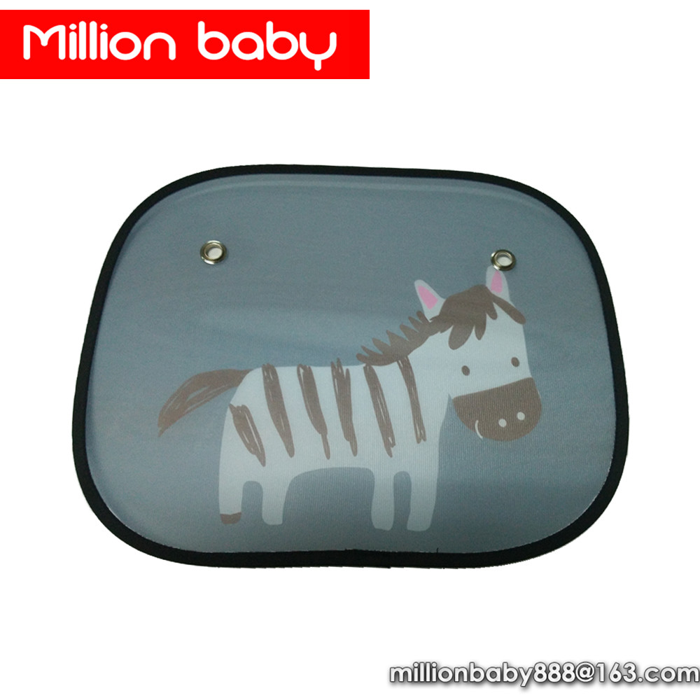 Attractive design nylon side foldable car sunshade window <strong>sun</strong> shade for baby kids