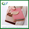 portable snap button leather multi card case travel wallet