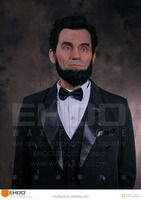Wax Museum Customized Wax Figure of Celebrity Abraham Lincoln Statue