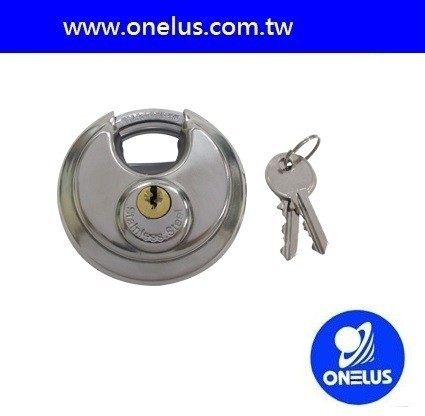 high quality stainless steel disc lock