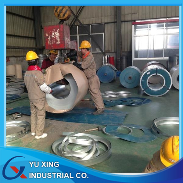 0.29*1000 RAL6027 PPGI steel sheet in coil supply in Vietnam used for building