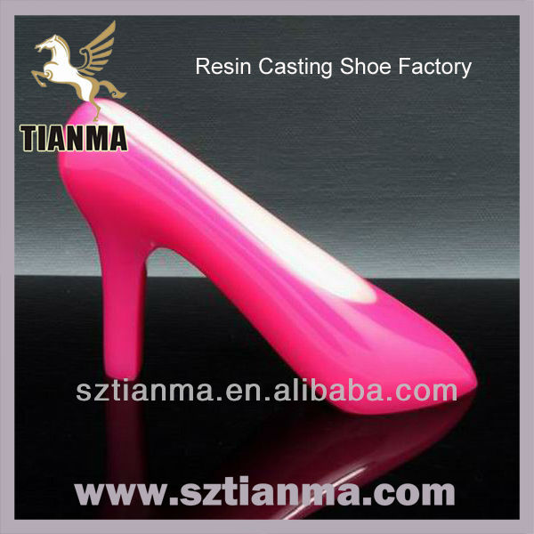 Resin Casting Gifts Shoe Paper Weight Products Factory
