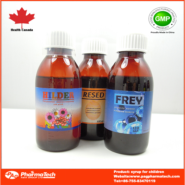 OEM brand health supplement herbal cough syrup