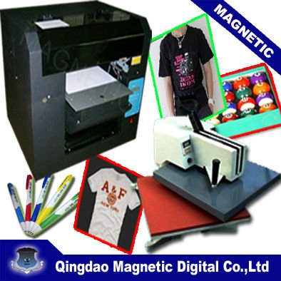 A3+ 8 ink cartridge digital t-shirt printing machine