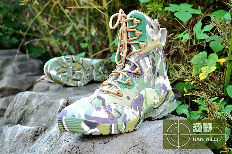 camouflage military boot shoes waterproof hunting boots Delta tactical shoes manufacturer