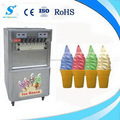 2016 hot sale 4+3mixed flavors ice cream maker for commercial use