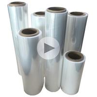 Polyolefin POF Heat Shrink Wrap Film, 12.5micron 15micron 19micron 25micron