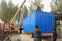 CE easy transportation customized flat pack container house for sale in factory