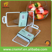 plastic PVC packaging box for mobile phone