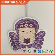 Hot Sell OEM Promote Printing Car Paper Fragrance Air Freshener With Customized Design