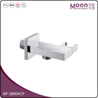 Chrome handheld shower bracket shower head wall bracket ,Bathroom Accessories