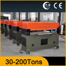 precision four-column hydraulic index tab die cutting machine