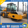 Hot sale XCMG XS142J 14ton rubber tire road roller for sale