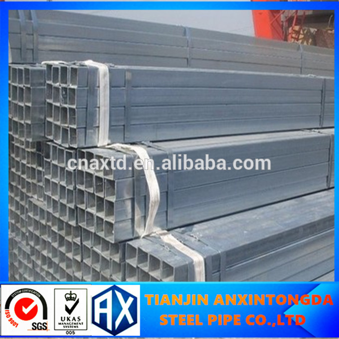 big out diameter thick wall square tube hot rolled/cold drawn ms black rectangular/square steel pipe