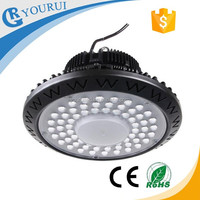 Factory industrial 50w 70w 90w 150w 200w led high bay light with Mean well driver UL approval 100w high bay light