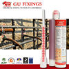 Quick gelling epoxy resin concrete and anchor fixings