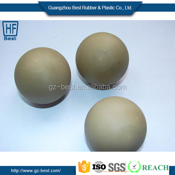 High quality NBR/Nitrile rubber ball /rubber coated metal ball for kids