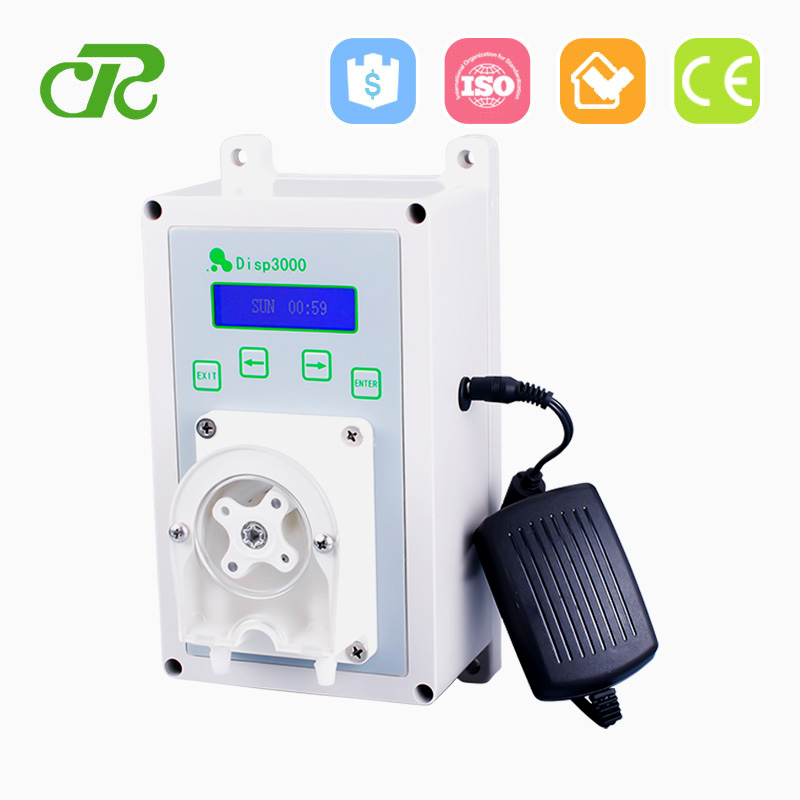 Chemical Degreaser Battery Powered Cased Peristaltic Pump