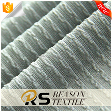 2017 best seller polyester metallic Jacquard elastic knit fabric