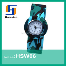 Silicone Low Price Fancy Slap Cheap Sporty Silicon Watch