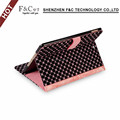 Hot selling pu leather case flip folding tablet case for iPad Pro