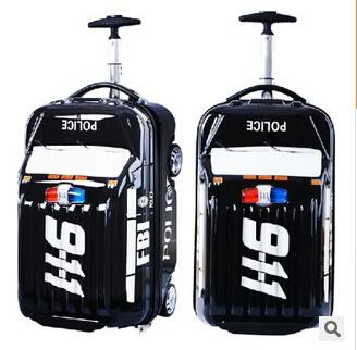 New Car Shaped Trolley Bag For Kids /popular Kid's Travelling Bag ...