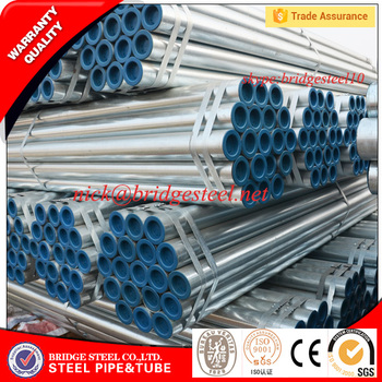 Hot dipped galvanized steel pipe manufacturer