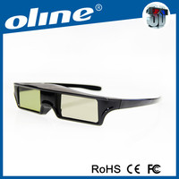 New Generation 3D Glasses OLINE with high Contrast KX-60 bluetooth hd video glasses