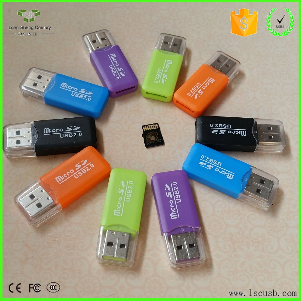 New Products Hot Sell Mini USB SD / TF Card Reader