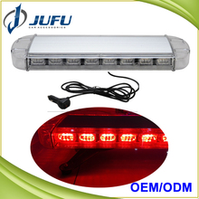 Customized Red Blue White Amber vehicle magnetic warning light bar used police LED roof strobe light bars