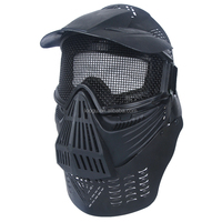 hotsale military airsoft wargame gear mesh tactical full face mask