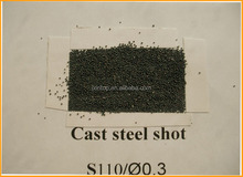 Sand Blasting Abrasive Cast Steel Shot s110(0.3mm) made in china