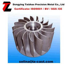 motor cooling plastic fan impeller with stamping and welding