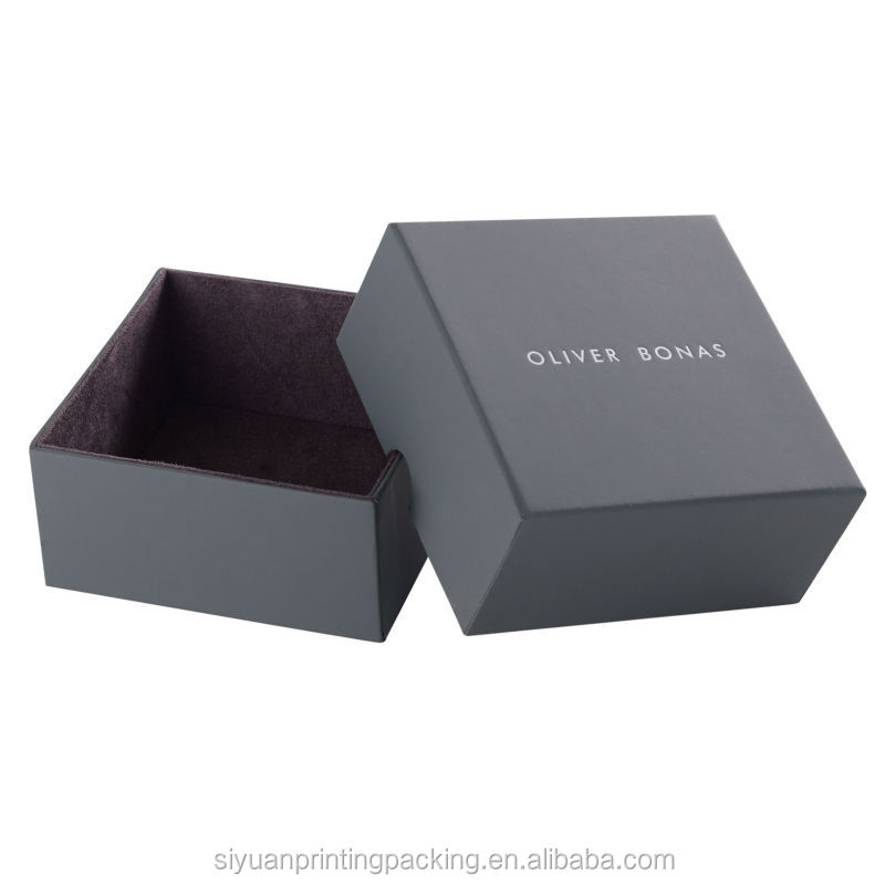 Bottom price latest cardboard fashion watch packaging box