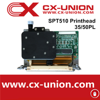 hot sale seiko 510 35pl printhead for solvent printer