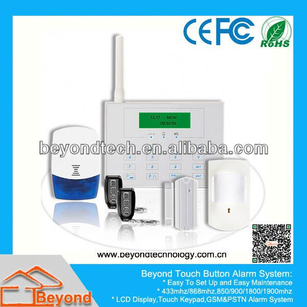 Gsm Outdoor Camera Alarm With Nice Blue LCD Display
