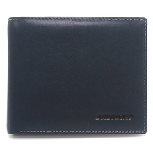 Men's RFID Blocking Cowboy Genuine Natural Crazy Horse Leather Bifold Wallet