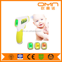 household Infrared forehead non contact fever alarm Thermometer gun, Non-contact Digital LCD Temperature Monitor