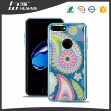 2 in 1 UV Color Printing TPU PC Phone Case For i7 Plus