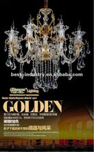 2012 italian glass chandelier made by famous lamp designers,restaurant ceiling light by Meerosee Manufacturer