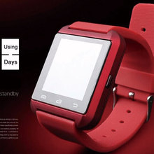 Fashionable Design Red Smart Heart Rate Monitor Watch With Blood Pressure Monitors