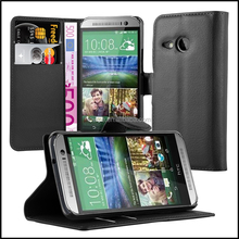 Wallet Leather Moblie Phone Case Cover for HTC One Mini 2