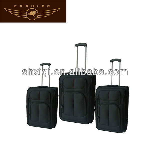 2 wheels trolley case 2014 oversize trolley luggage